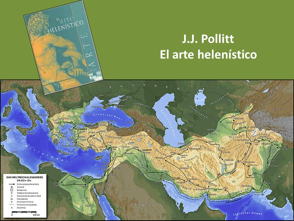J.J. Pollitt El arte helenístico