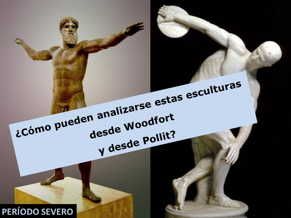 ¿Cómo pueden analizarse estas esculturas