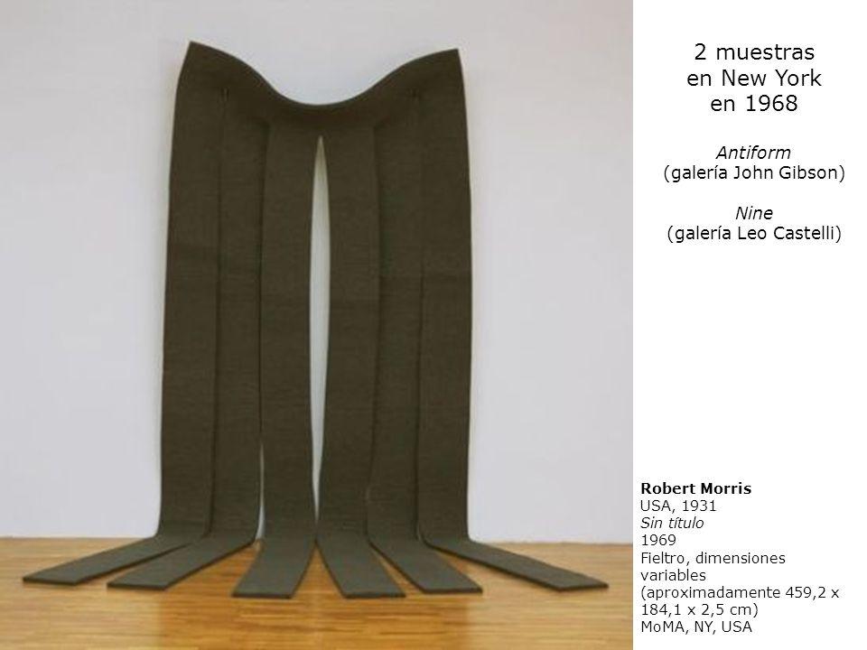 (galería Leo Castelli)