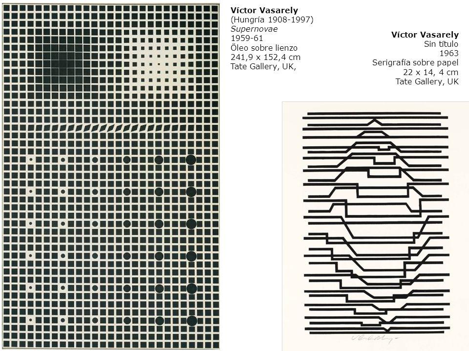 Víctor Vasarely(Hungría 1908-1997) Supernovae. 1959-61. Öleo sobre lienzo. 241,9 x 152,4 cm. Tate Gallery, UK,