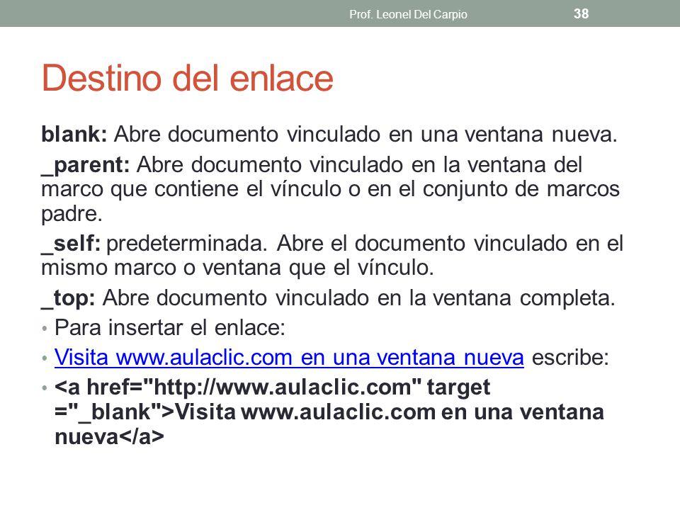 Prof. Leonel Del Carpio Destino del enlace. blank: Abre documento vinculado en una ventana nueva.