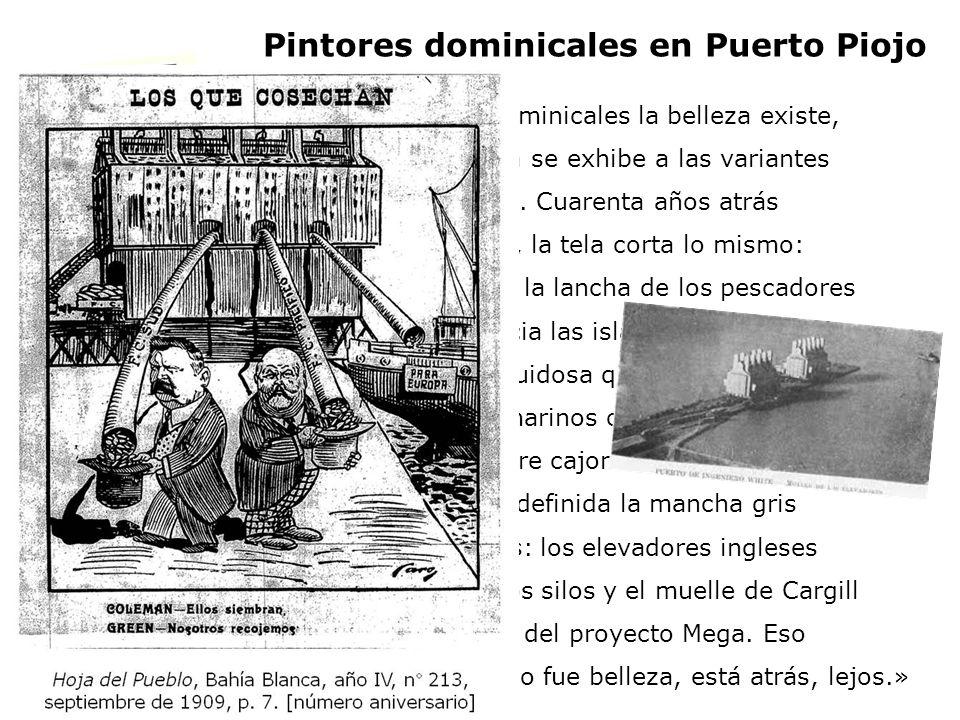 Pintores dominicales en Puerto Piojo