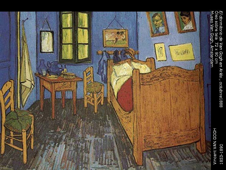El dormitorio de Van Gogh en Arlés., octubrre1888