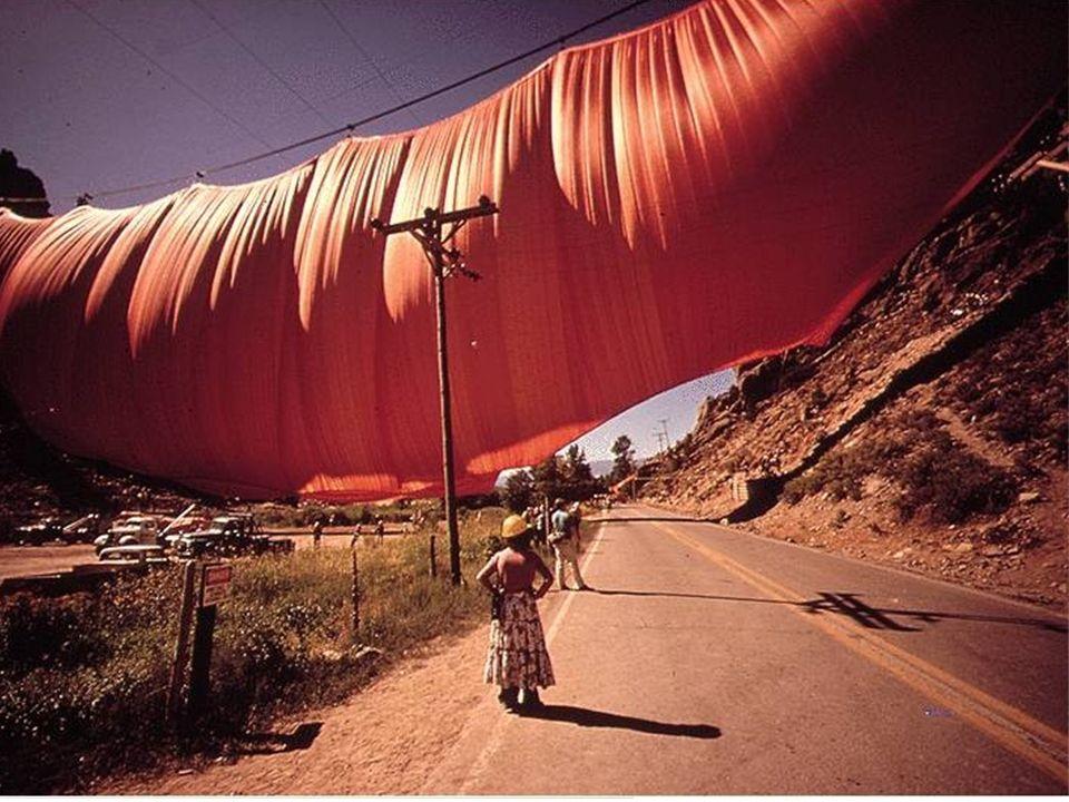 Jeanne Claude (Marruecos 1935-USA 2009)
