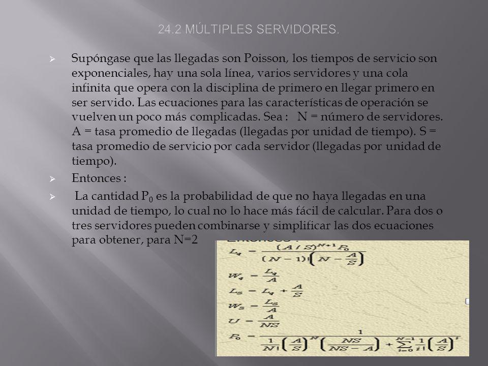 24.2 MÚLTIPLES SERVIDORES.