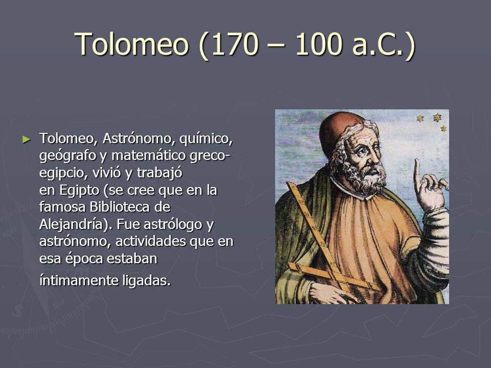 Tolomeo (170 – 100 a.C.)