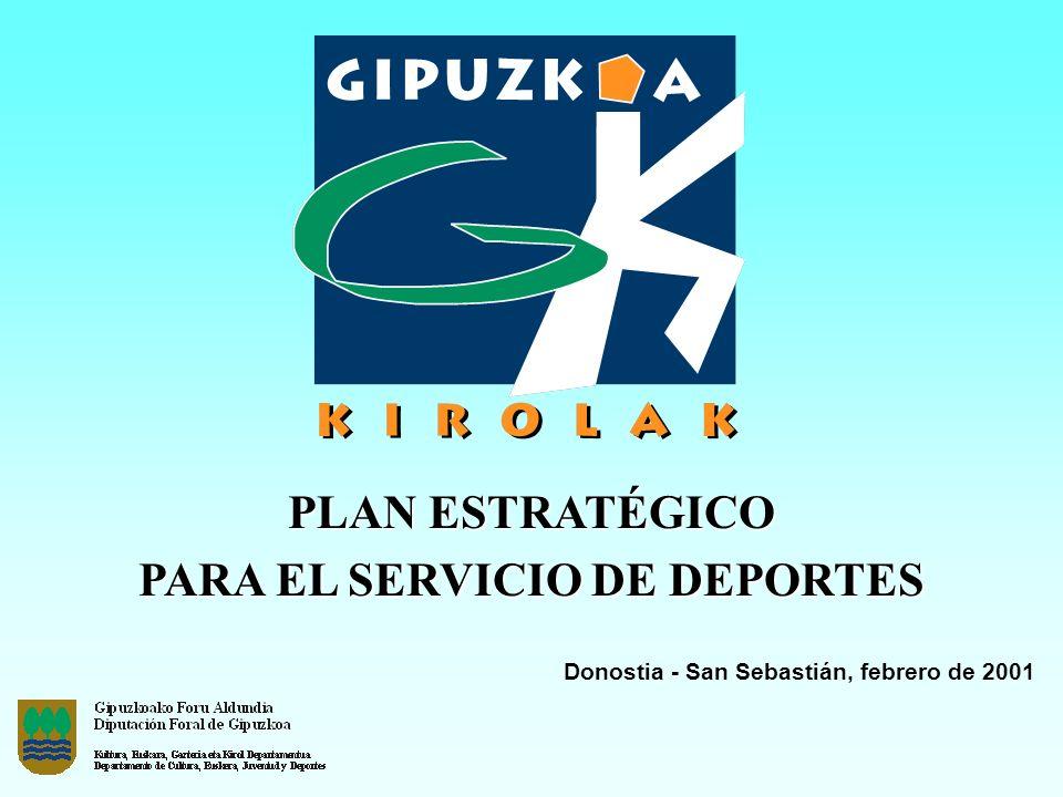 PARA EL SERVICIO DE DEPORTES