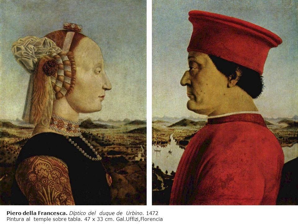Piero della Francesca. Díptico del duque de Urbino. 1472