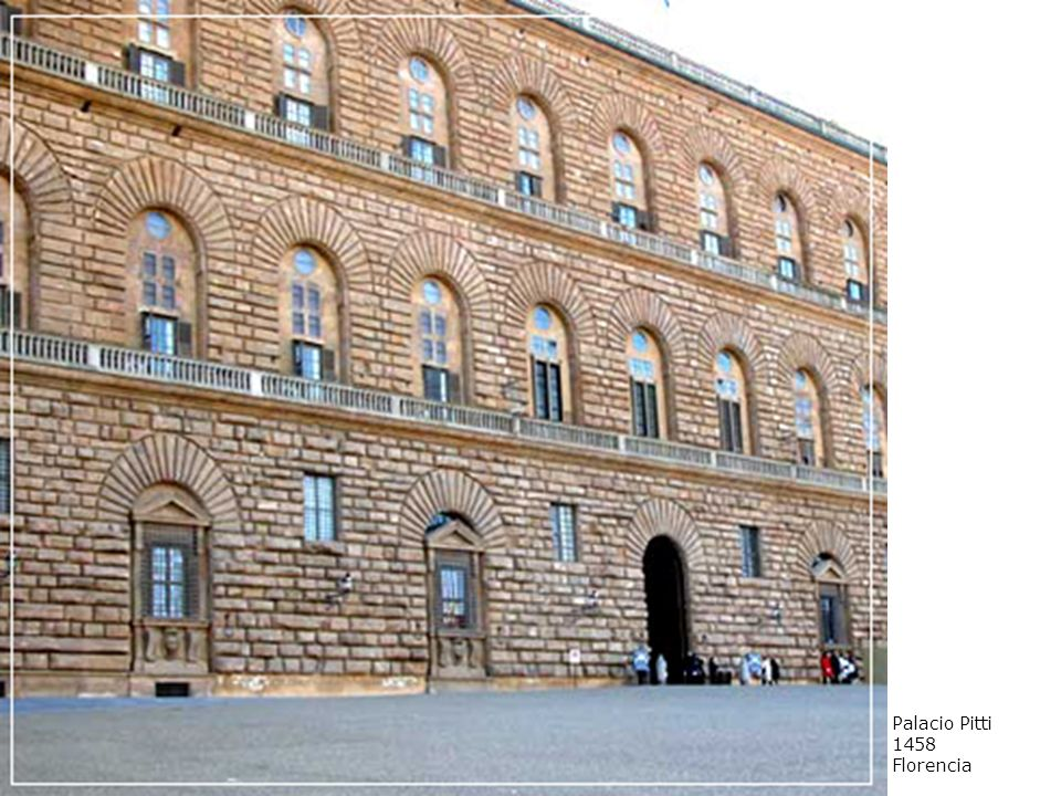 Palacio Pitti 1458 Florencia