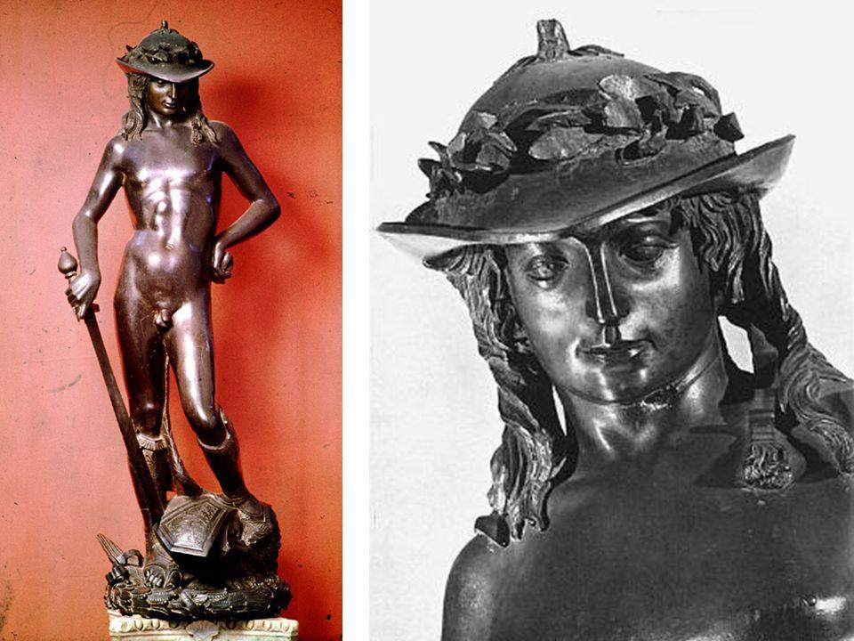 DONATELLO David 1440 Bronce – 158 cm Museo Nazionale del Bargello Florencia