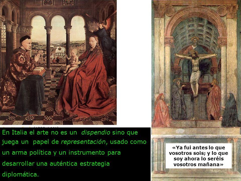 En Italia el arte no es un dispendio sino que