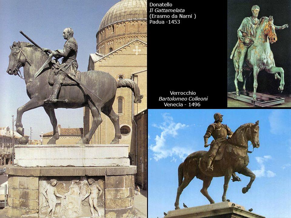 Donatello Il Gattamelata. (Erasmo da Narni ) Padua -1453.