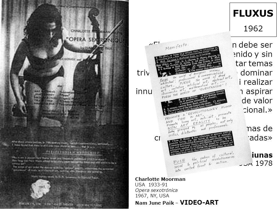 FLUXUS 1962.