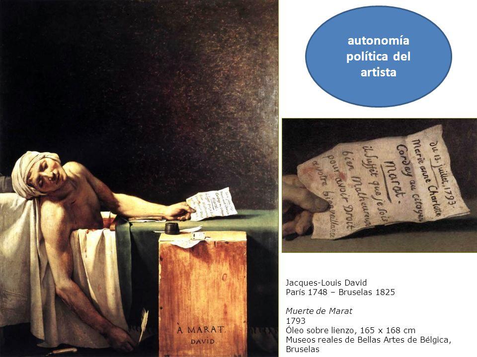autonomía política del artista
