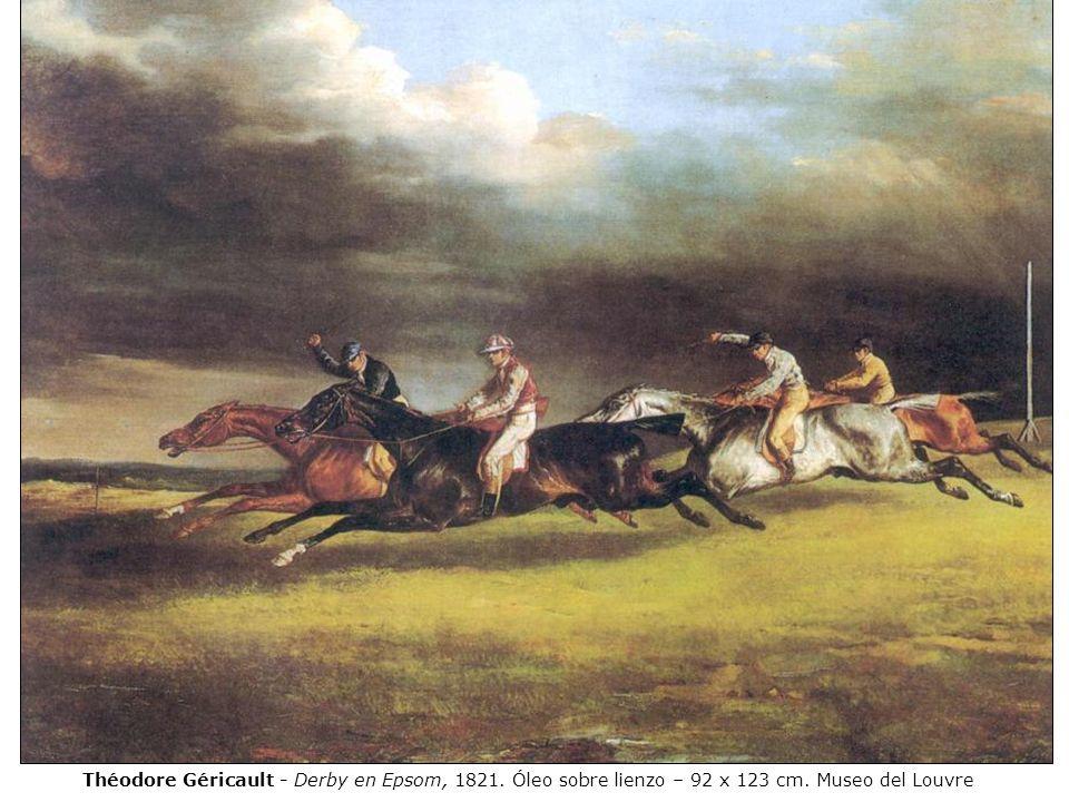 Théodore Géricault - Derby en Epsom, 1821