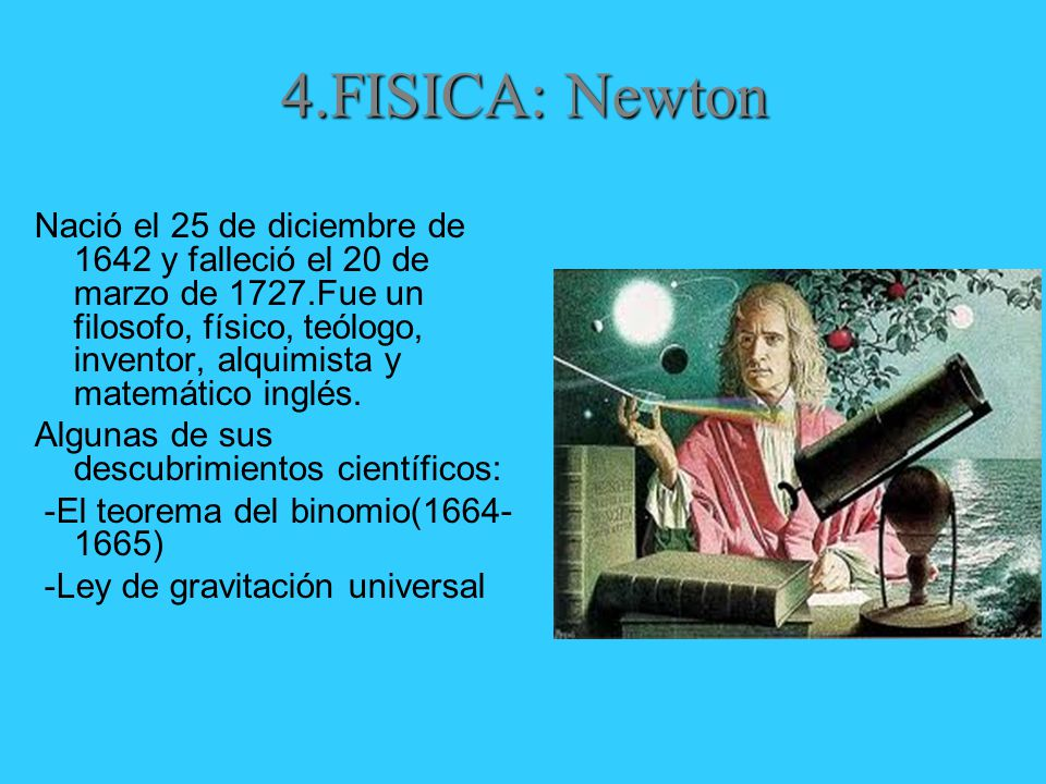 4.FISICA: Newton