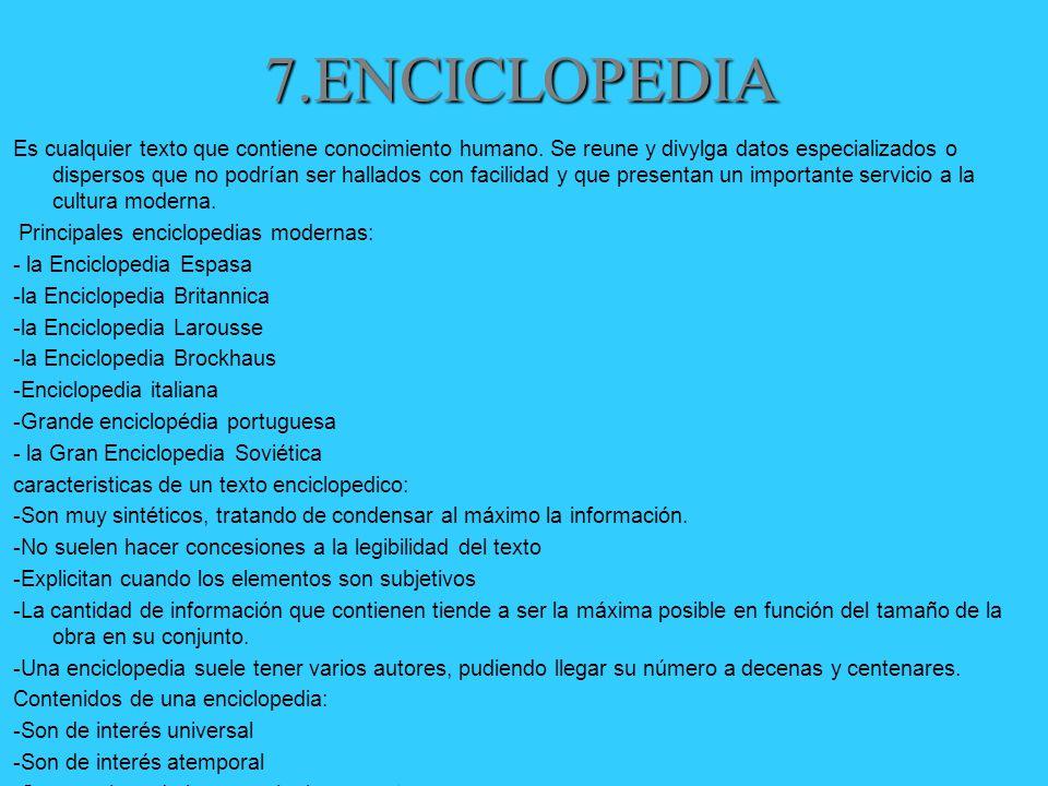 7.ENCICLOPEDIA