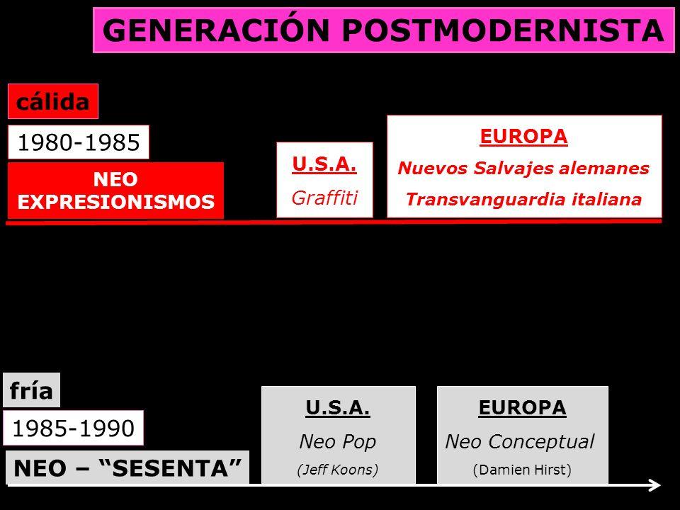 GENERACIÓN POSTMODERNISTA