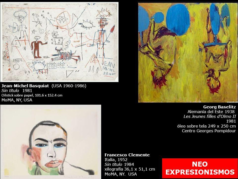 NEO EXPRESIONISMOS Jean-Michel Basquiat (USA 1960-1986)