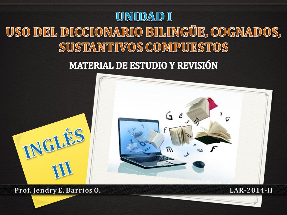Prof. Jendry E. Barrios O. LAR-2014-II