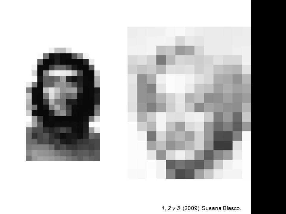 1, 2 y 3 (2009), Susana Blasco.