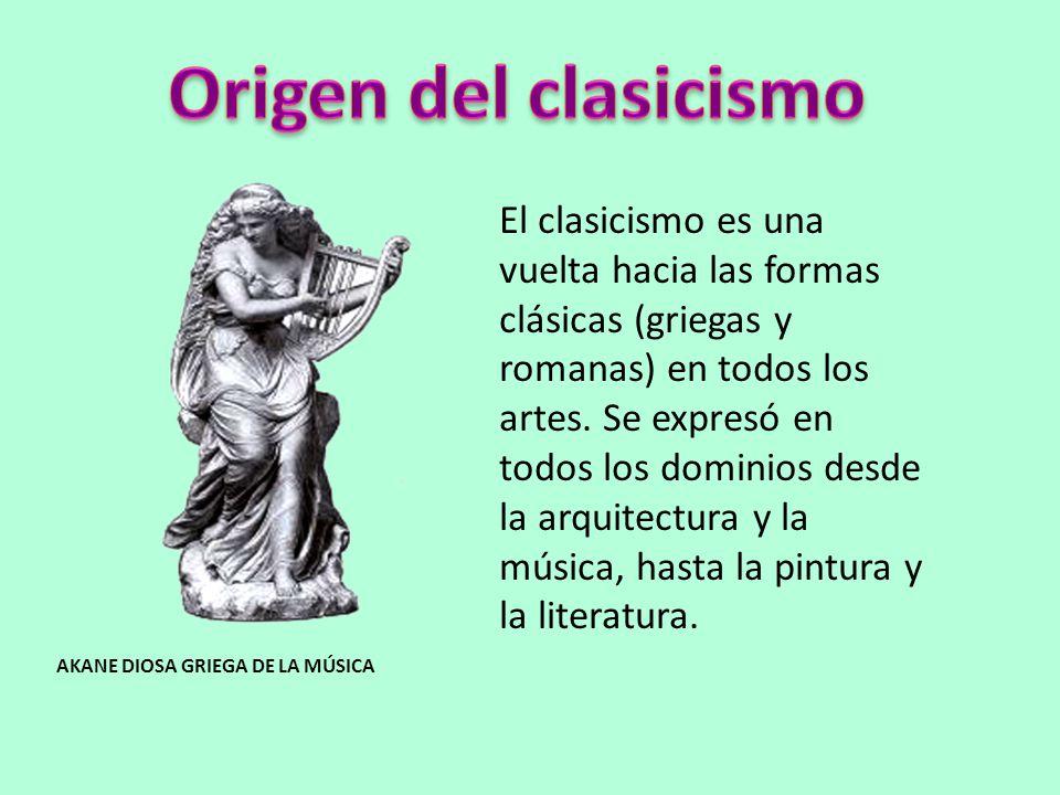 Origen del clasicismo