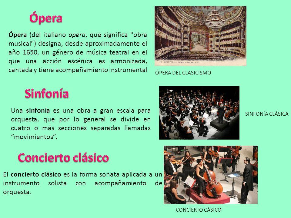 Ópera Sinfonía Concierto clásico