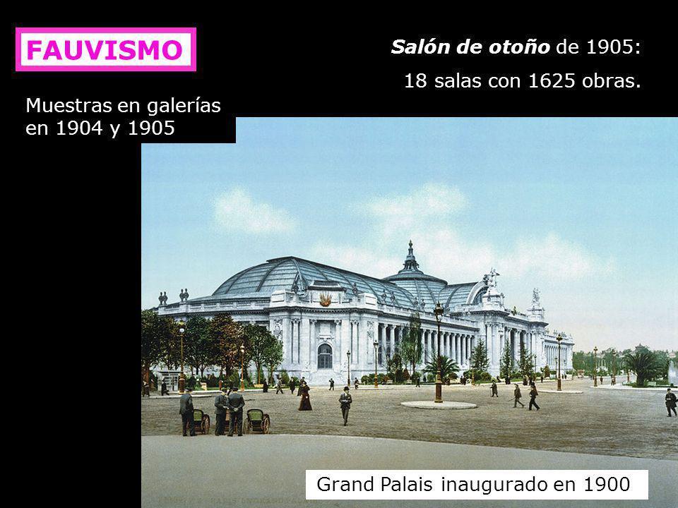Grand Palais inaugurado en 1900