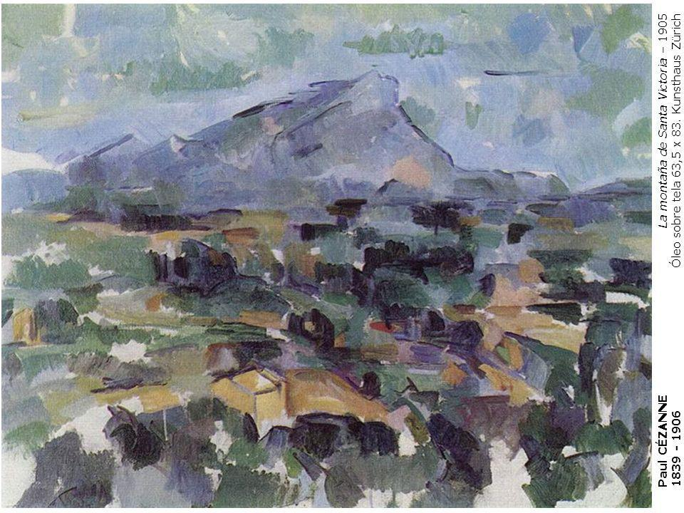 La montaña de Santa Victoria – 1905