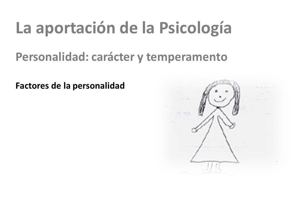 La aportación de la Psicología