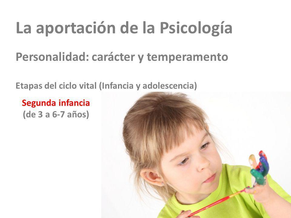 Segunda infancia (de 3 a 6-7 años)