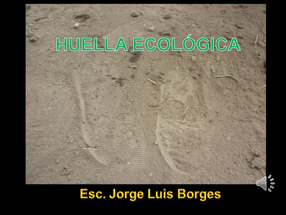 HUELLA ECOLÓGICA Esc. Jorge Luis Borges
