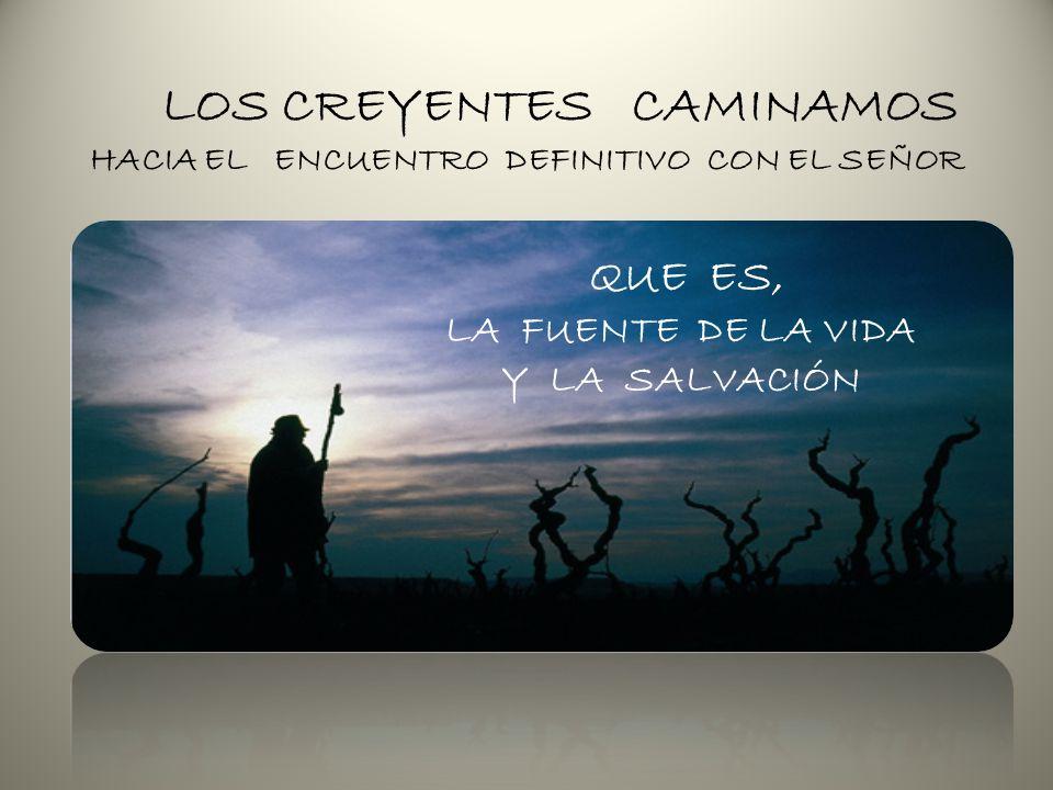 LOS CREYENTES CAMINAMOS