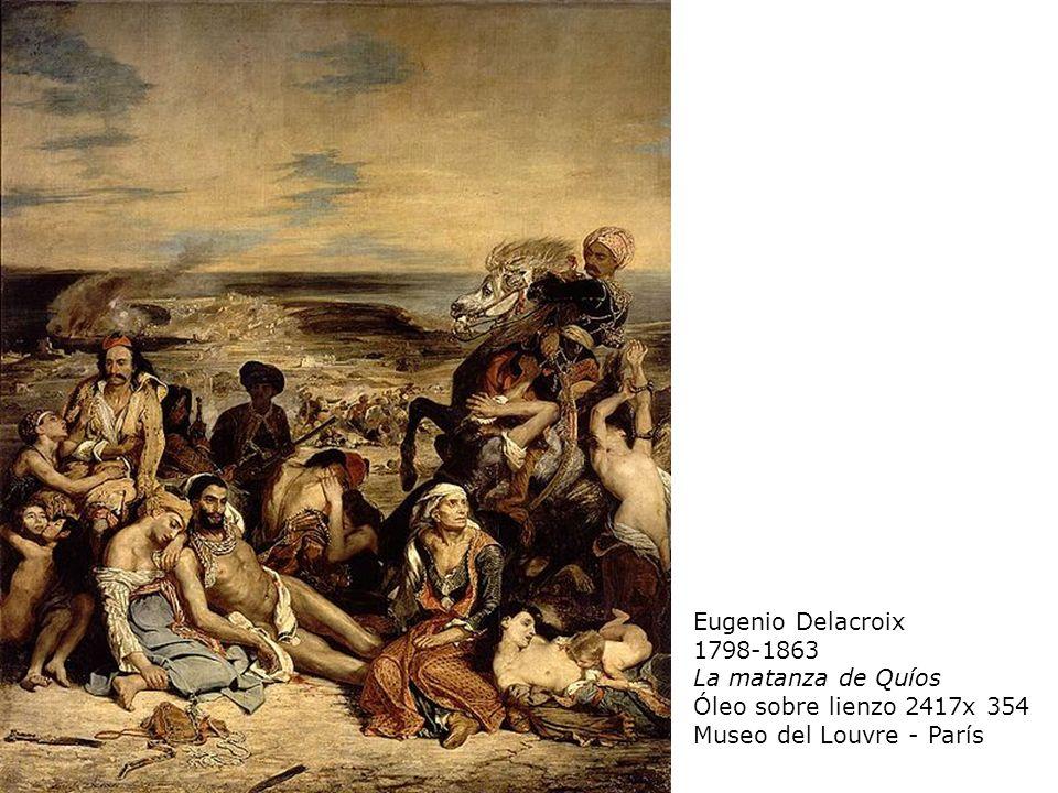 Eugenio Delacroix 1798-1863. La matanza de Quíos.