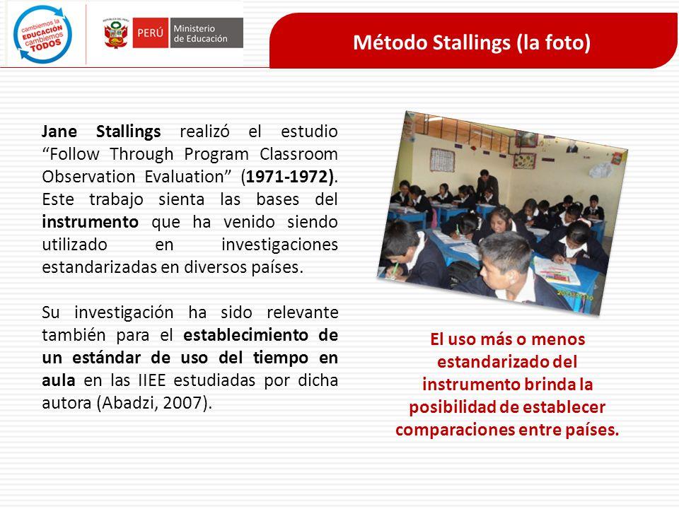 Método Stallings (la foto)