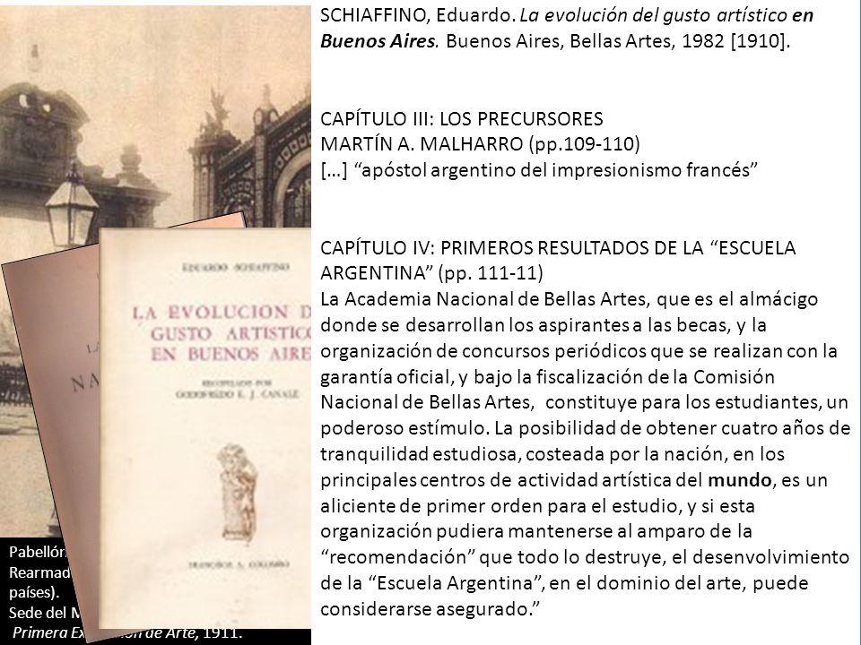 CAPÍTULO III: LOS PRECURSORES MARTÍN A. MALHARRO (pp.109-110)