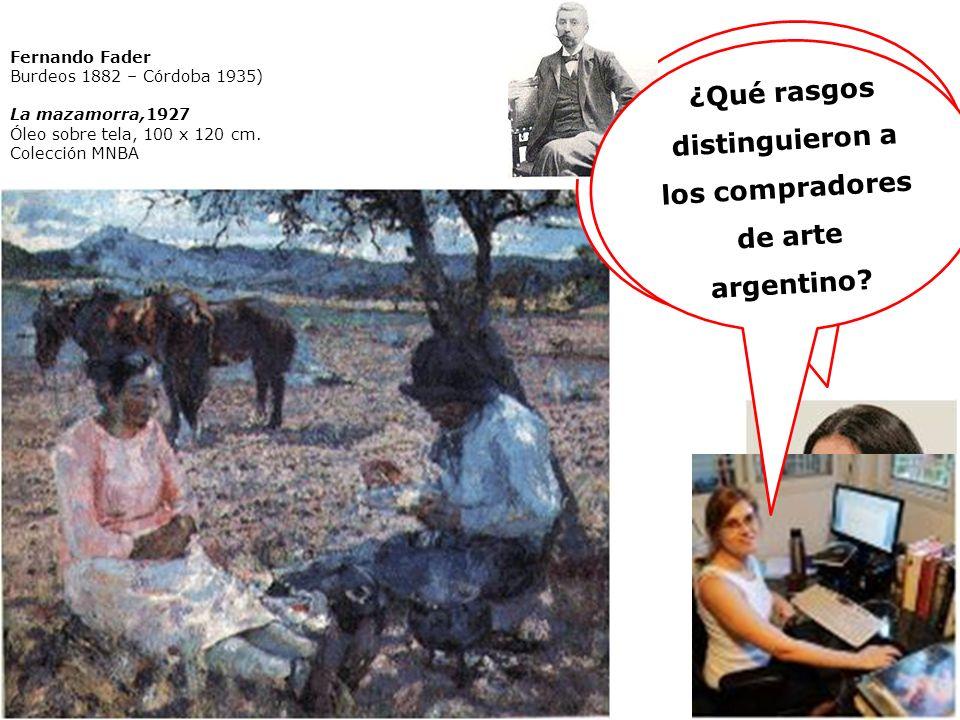 ¿Es lícito etiquetar a Malharro o a Fader de impresionistas