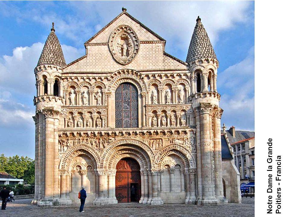 Notre Dame la Grande Poitiers - Francia