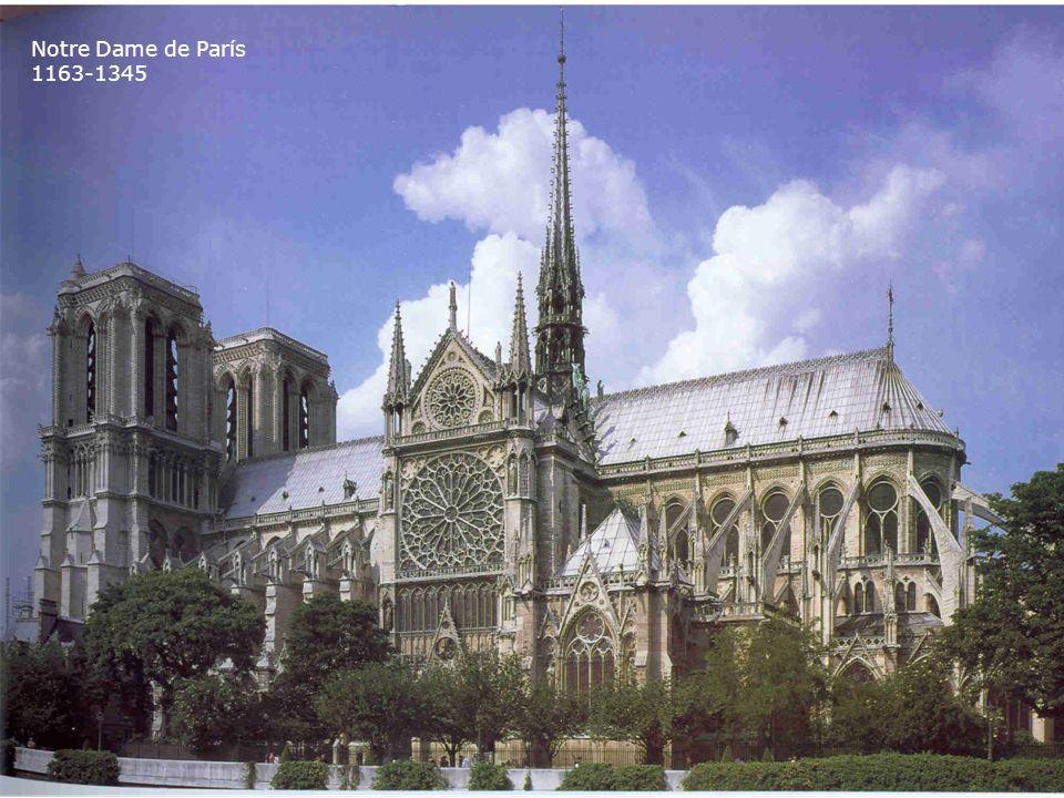 Notre Dame de París 1163-1345