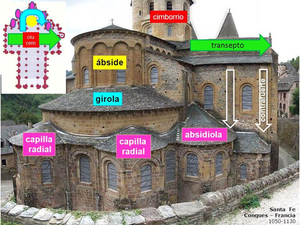capilla radial absidiola girola ábside