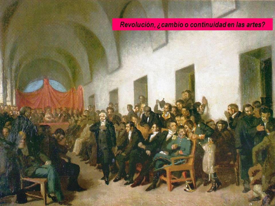 Revolución, ¿cambio o continuidad en las artes