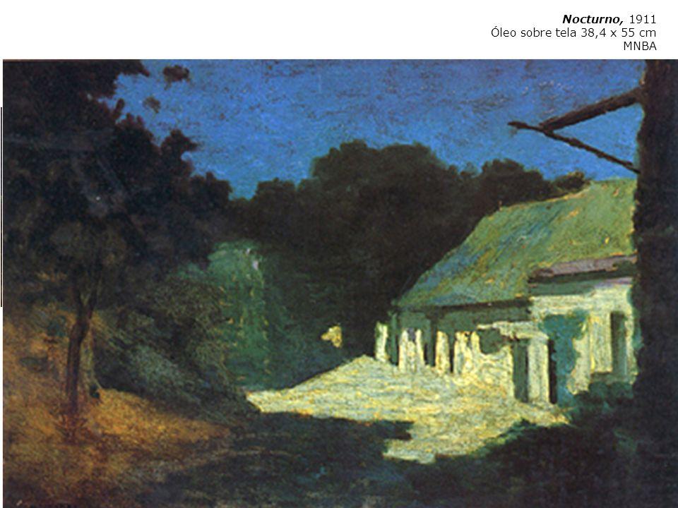 Martín Malharro Azul 1865 Buenos Aires 1911 Nocturno, 1911