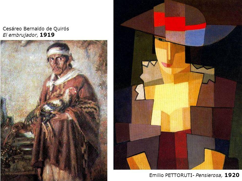 Cesáreo Bernaldo de Quirós El embrujador, 1919