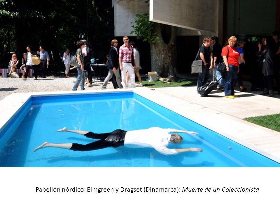 Pabellón nórdico: Elmgreen y Dragset (Dinamarca): Muerte de un Coleccionista