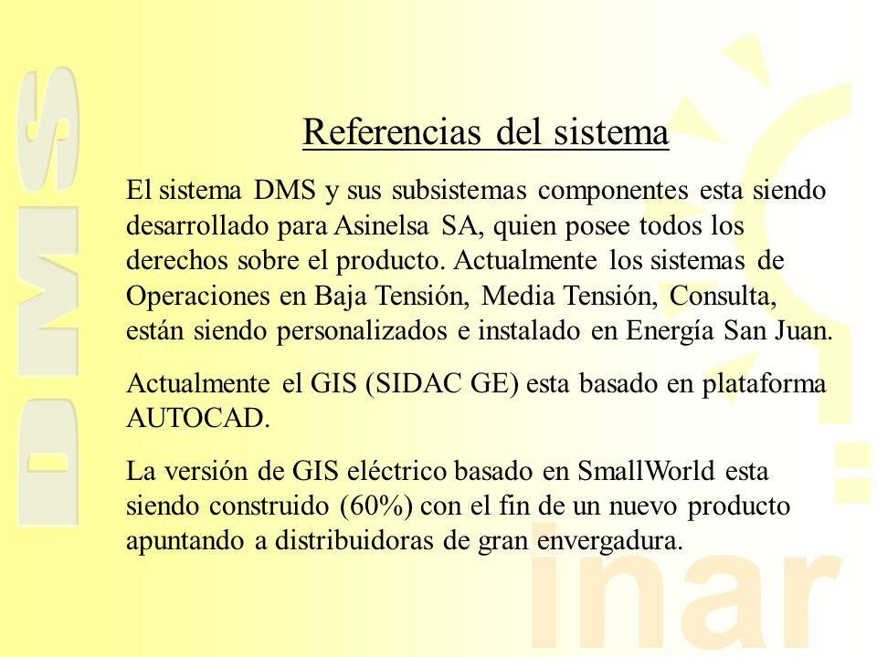 Referencias del sistema