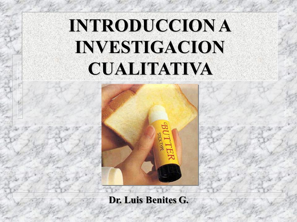INTRODUCCION A INVESTIGACION CUALITATIVA