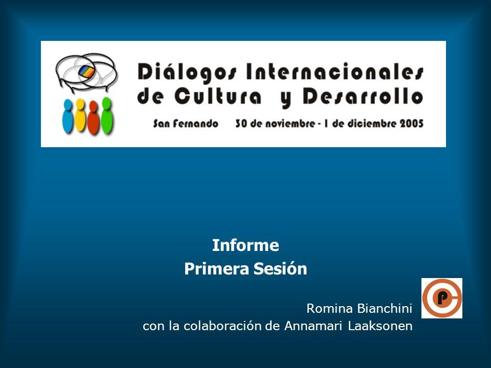 Informe Primera Sesión Romina Bianchini