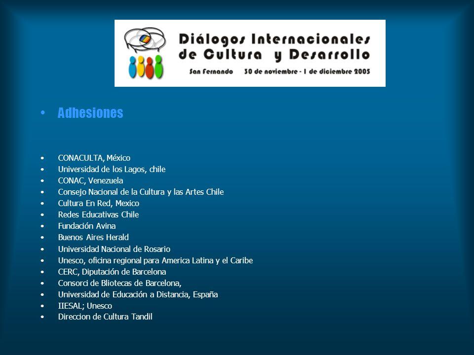 Evaluación Adhesiones CONACULTA, México