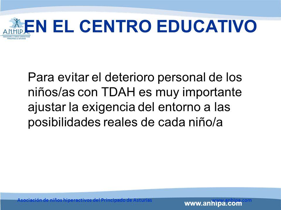 EN EL CENTRO EDUCATIVO