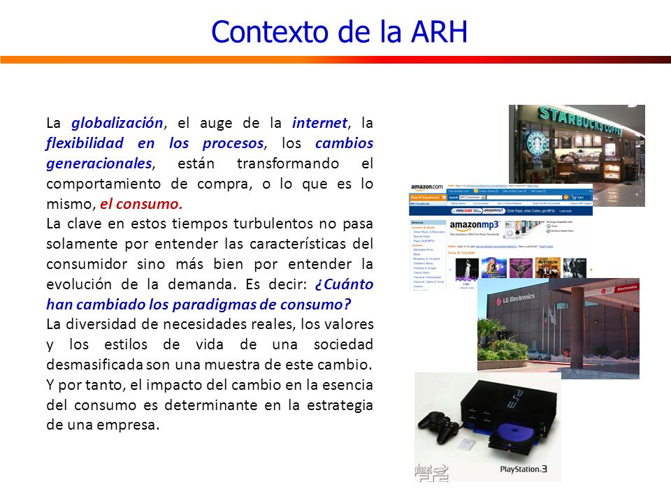 Contexto de la ARH